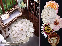 pralinesims u0027 glamour flower rugs
