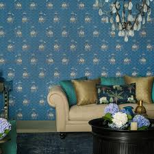 indechine promenade designer wallpaper from nilaya by asian paints