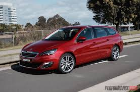 peugeot 2015 models 2015 peugeot 308 touring 1 6t review video performancedrive