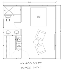 small guest house floor plans guest house plans 400 square adhome