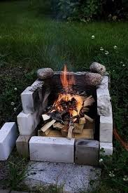 Starting A Fire Pit - how to build a brick fire pit