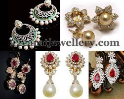 diamond earrings india 94 best jewellery images on diamond necklaces jewelry