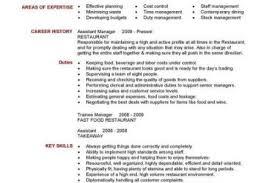 Restaurant Assistant Manager Resume Sample by Restaurant Manager Resume Example Free Restaurant Management