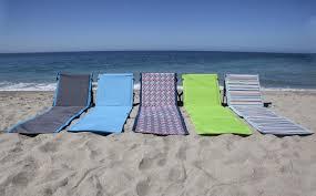 Fully Reclining Beach Chair Picnic Time Vibe Beach Chair U0026 Reviews Wayfair