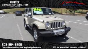 chief jeep wrangler 2017 new 2017 jeep wrangler sahara sport utility in honolulu wj17301