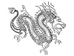 chinese dragon coloring pages easy chinese dragon coloring pages dragon coloring pages with dragon