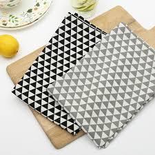 diner k che nordic geometrische muster klassischen print baumwolle küche