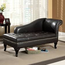Tufted Leather Chaise Leather Chaises