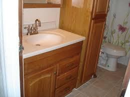 Built In Bathroom Vanity Marvelous Art Bathroom Vanity With Linen Cabinet Built In Bathroom