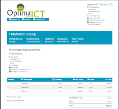 professional invoice u0026 sales order templates odoo apps