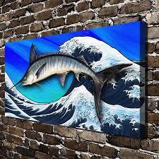 Home Blue Fish Aliexpress Com Buy C X479 Blue Marlin Aquatic Animals Sea Fish