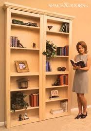 build a hidden door bookcase for your secret stash