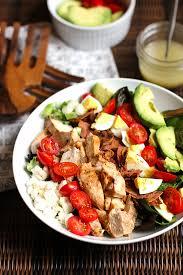 Salad Main Dish - grilled chicken cobb salad suebee homemaker