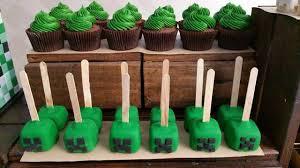 minecraft cupcake ideas minecraft party food ideas wish
