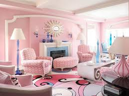 Pink Living Room Home Design Ideas - Pink living room design