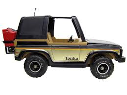 vintage barbie jeep 1970 u0027s vintage mr 970 mighty tonka black jeep bronco complete my