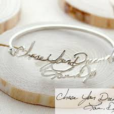 personalized remembrance jewelry shop handwriting memorial jewelry on wanelo