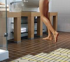 hints and tips on installing floor heating bathrooms
