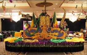 mardi gras table decorations wedding decor corporate event entertainment and decor in