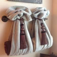 bathroom towel decor ideas bathroom towel decorating ideas master