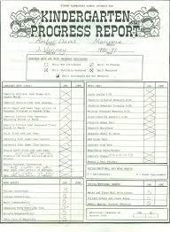 preschool report card template 17 images of progress report card template infovia net