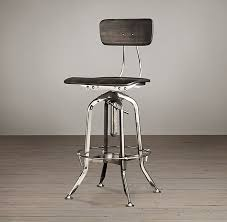 Restoration Hardware Bar Stool Vintage Toledo Bar Chair