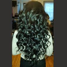 wanded hairstyles full weave with russian hair wanded yelp