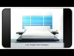 low height bed low height bed designs youtube