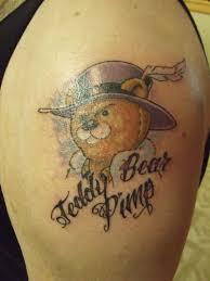 bear pimp tattoo