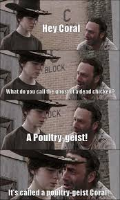 Carl Walking Dead Meme - walking dead joke carl know your meme