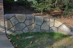Recon Walls by Decorative Blocks For Landscaping Iron Blog