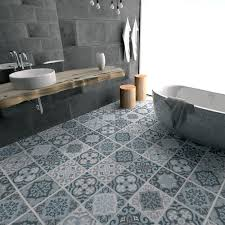 floor tile decals vinyl floor bathroom by homeartstickers