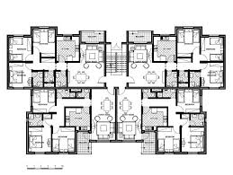 Brilliant Apartment House Plans Designs Floor Ideas On Pinterest - Apartment house plans designs