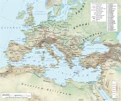 Seas Of The World Map by The Herules Were An East Germanic Tribe Who Lived North Of The