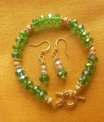 crystal bracelet diy images How to make a easy crystal beaded bracelet jpg