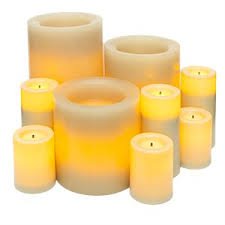 candle impressions 11 flameless candle set with
