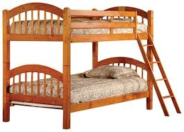 Bunk Beds Wood Cassidy Arched Bunk Bed Reviews Wayfair