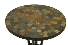 Small Mosaic Patio Table by Mosaic Top Side Table Outdoor Mosaic Tile Side Tables Mosaic Side