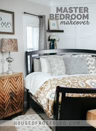 master bedroom makeover bright cheery master bedroom