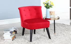 roger velvet accent chair with tufted details sofamania com