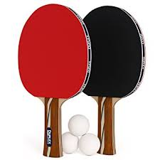 Amazon Ping Pong Table Amazon Com Duplex 6 Star Ping Pong Paddle Set Of 2 Table Tennis