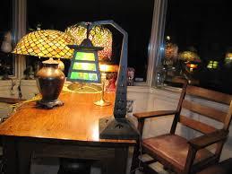 Arts And Crafts Desk Lamp Don U0027s Lamps U0026 Antiques Handel Arts U0026 Crafts Table Lamp