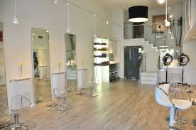 fresh modern concept decor hair salon in singapore 15774