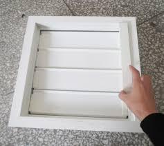 chemical resistant industrial fiberglass window blinds shutters