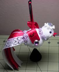 diy adorable christmas bird ornament for your tree youtube