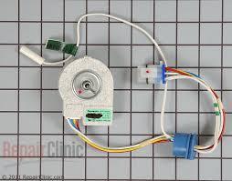 refrigerator evaporator fan replacement evaporator fan motor wr60x10307 repairclinic com