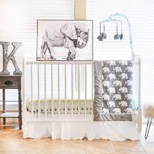 Elephant Nursery Bedding Sets Pam Grace Creations Elephant 6 Crib Bedding Set