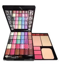 kiss beauty make up kit 30 eyeshadow 3 blusher 2 compact and 4