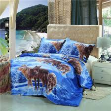 Bedding Sets Blue Compare Prices On Wolf Bedding Online Shopping Buy Low Price Wolf