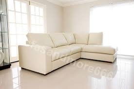 Corner Sofa In Living Room by Brand New Westpoint Corner Sofa Real Leather Right Hand
